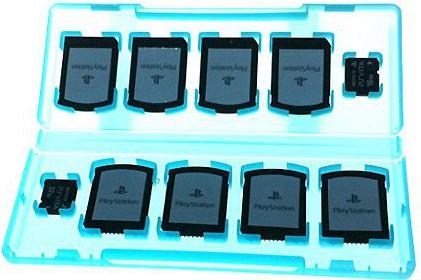 Картриджи и карты памяти для PS Vita в одном кейсе
