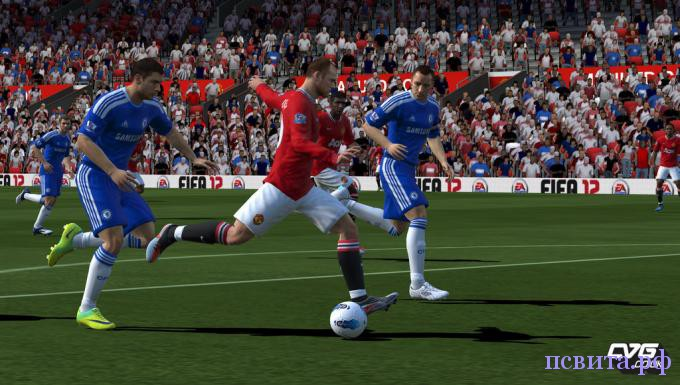 Скриншот FIFA12 для PS Vita