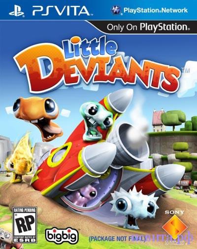 Игра Little Diviants для PS Vita