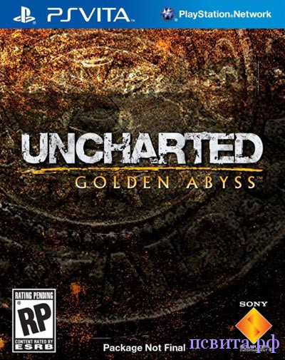 Игра Uncharted: Golden abyss для PS Vita