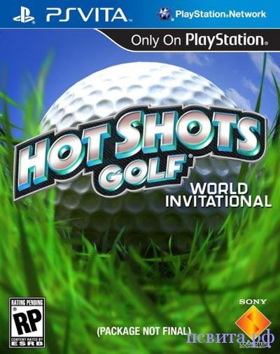 Игра HotShot golf для PS Vita