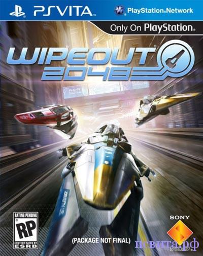 Игра WipeOut 2048 для PS Vita