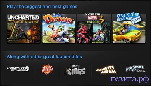 9 игр PS Vita