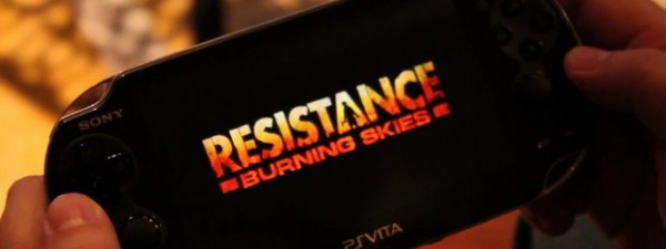 Видео геймплея Resistance: Burning Skies