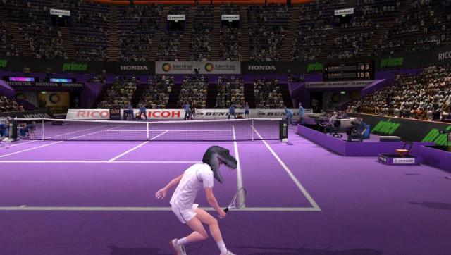 Захват вашего лица Virtua Tennis