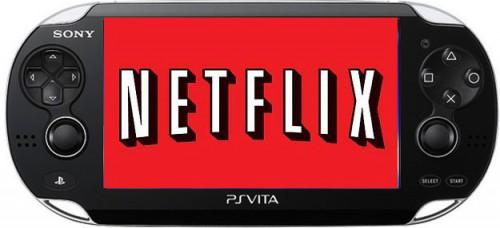 Netflix для ps vita