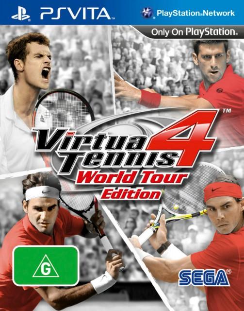 Обложка Virtua Tennis 4