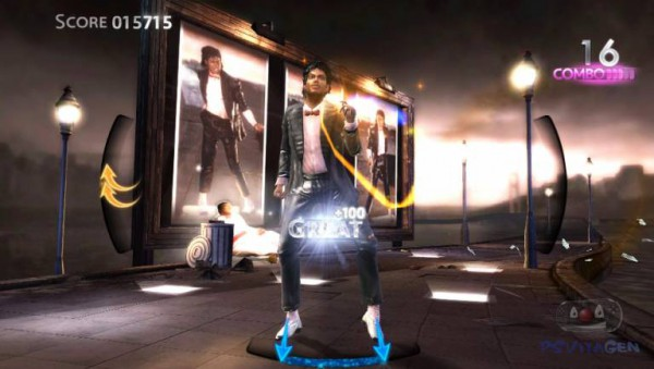 Michael Jackson для PS Vita
