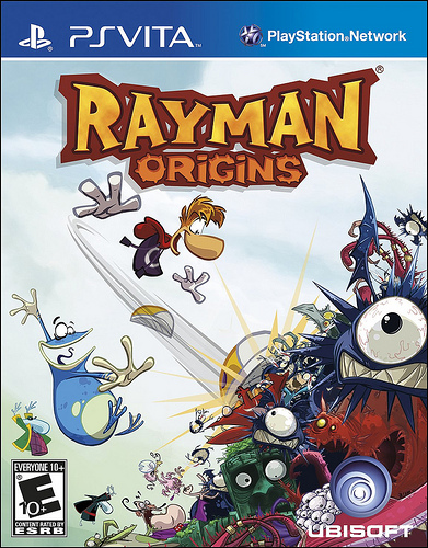 Обложка Rayman Origins