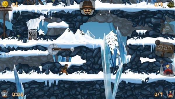 Квестовая головоломка A-man. Видео геймплэя и скриншоты