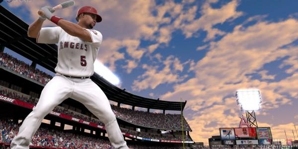 MLB12: The show. Геймплэйный ролик матча между Лос-Анджелес и Техас Рейнджерс