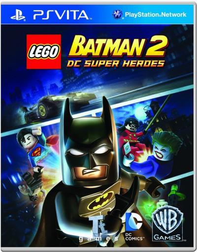 LEGO Batman 2: DC Super Heroes обложка