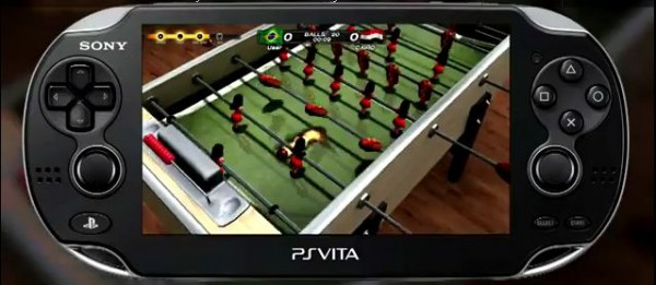 Симулятор настольного футбола Foosball 2012 для PS Vita