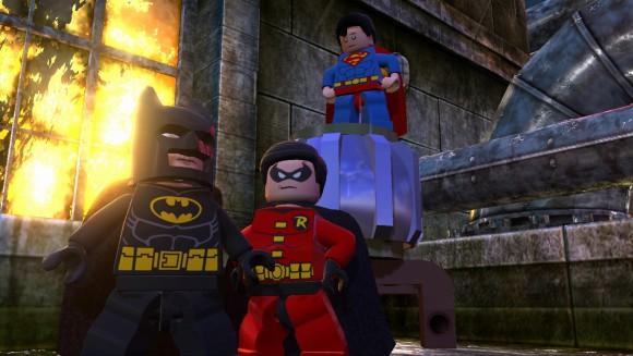 Скриншоты и видеотрейлер LEGO Batman 2: DC Super Heroes