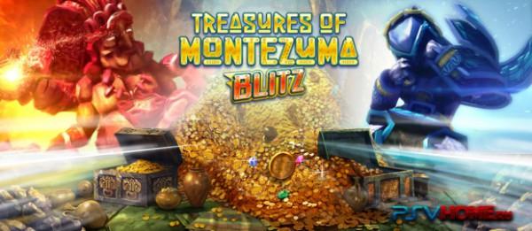 Treasures of Montezuma Blitz: первая бесплатная игра для Playstation Vita