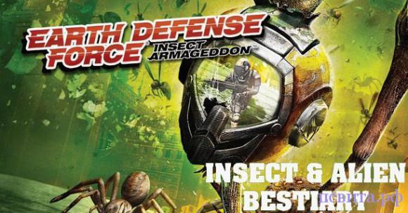 Десант инопланетных захватчиков в игре Earth Defense Force 3