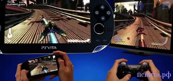 PS Vita будет использоваться как дополнительный контроллер в играх на PS3