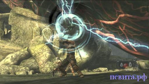Необычное оружие в игре Soul Sacrifice