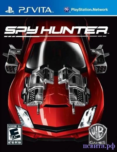 Обложка Spy Hunter на PS Vita