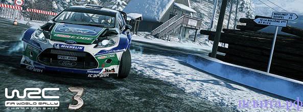 Геймплэйное видео WRC 3: FIA World Rally Championship