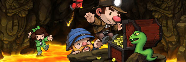 Игра Spelunky (Исследователь пещер) на Playstation Vita
