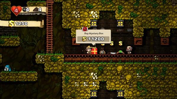 Игра Spelunky — Исследователь пещер