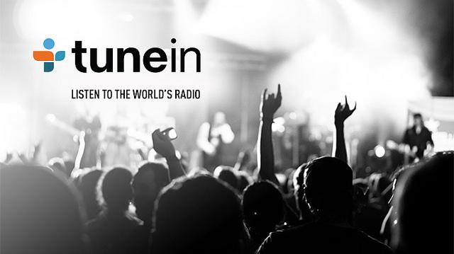 Программа TuneIn Radio для прослушивания радио и подкастов