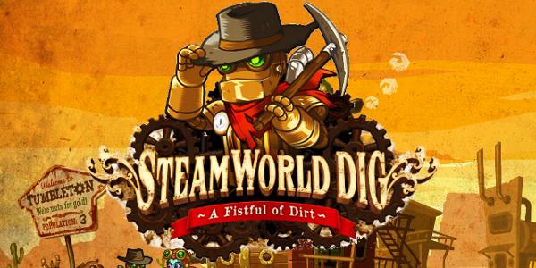 SteamWorld Dig скоро появится на PS Vita